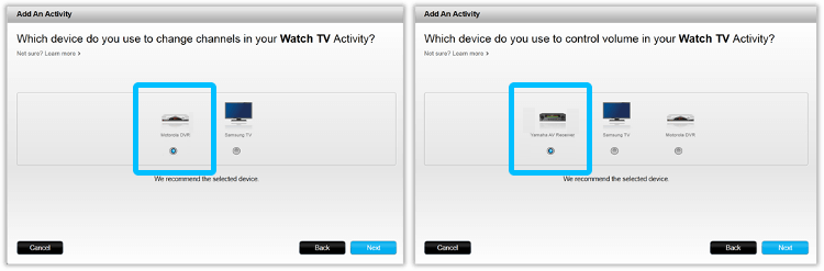 creating a Watch TV Activity