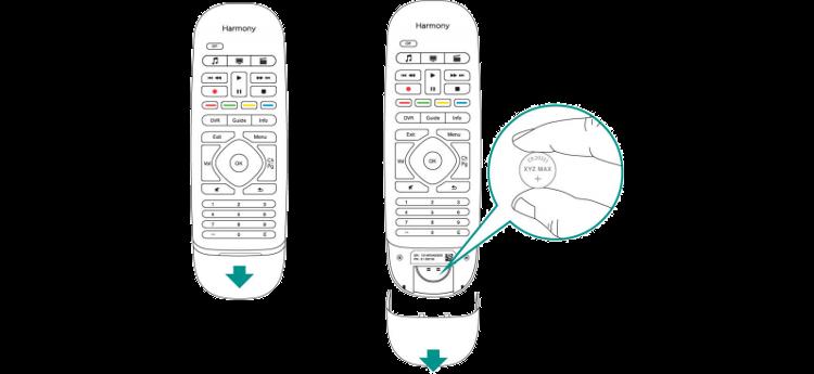 Batterie de la télécommande Harmony Smart Control
