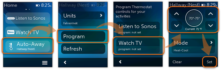 Nest programming on Ultimate