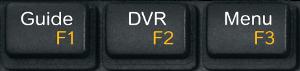Touches de l'enregistreur numérique