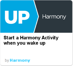 Harmony IFTTT - wake up