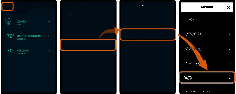 Harmony App - Set Time Zone Screen