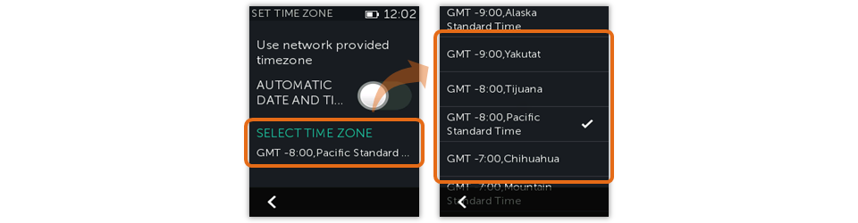 Harmony Remote - Change Time Zone