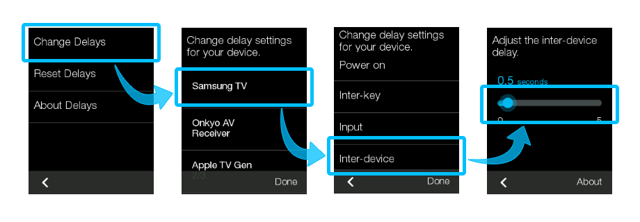 Harmony Remote - Fix inter device delay