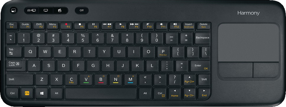 Harmony Smart Keyboard features