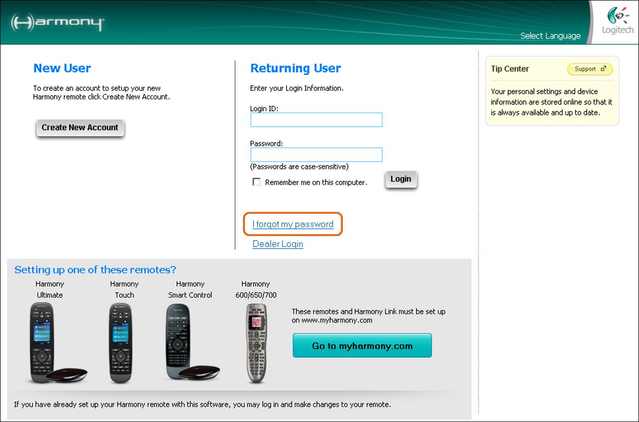 Software for screen printers com forgot